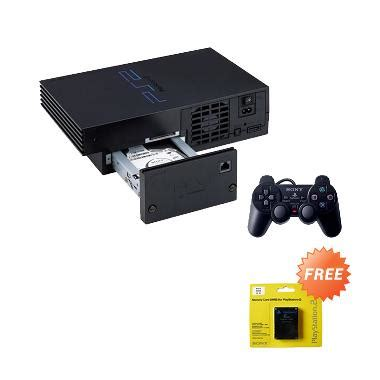 jual sony playstation 2 console network hdd
