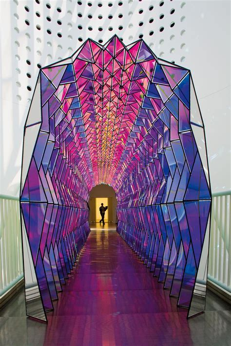 One way colour tunnel ? Artwork ? Studio Olafur Eliasson