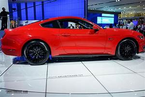 Race Red 2015 Mustang GT at the Detroit Auto Show | 2015+ S550 Mustang Forum (GT, EcoBoost ...