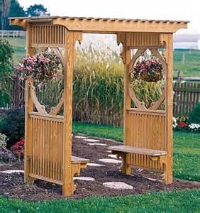 garden arbor plans pergola wooden pdf patio furniture