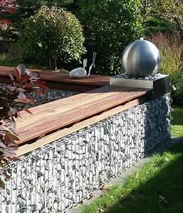 Moderne Gartengestaltung Mit Holz : gabionen f r garten und hochbeet ~ Eleganceandgraceweddings.com Haus und Dekorationen