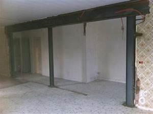 poutre pour mur porteur poutre pour mur porteur pose With remplacer un mur porteur par un ipn
