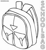 Coloring Bag Pages Bags Drawing Print Backpack Schoolbag Getdrawings Popular 1000px 78kb sketch template