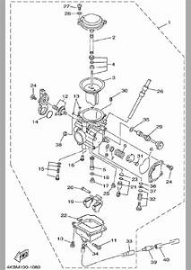 Yamaha Wolverine 350 Carburetor Diagram
