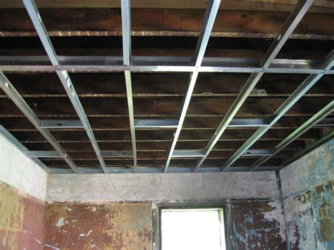 Installing Ceiling Joists by Metal Studs Greene Projects