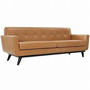 modern sofas empire tan leather sofa eurway modern With empire patio furniture covers reviews