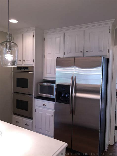 Kitchen Cabinet Interior Ideas by Before After Kitchen Reno With Painted Cabinets Home