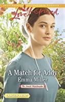 match  addy  amish matchmaker   emma miller reviews discussion bookclubs lists