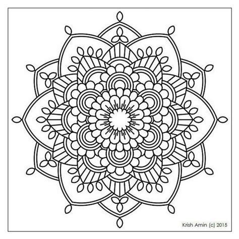 mandala bambini da colorare pdf mandala da colorare pagine pdf 1000 idee circa il mandala