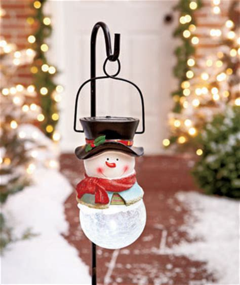 solar snowman stake set ltd commodities