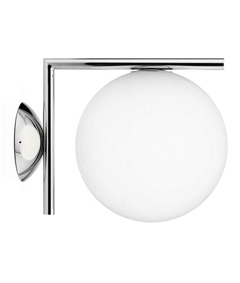 ic wall lights by flos available in two sizes and finishes