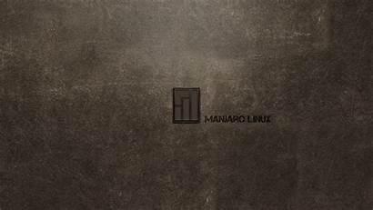 Xfce Linux Manjaro Inscription Line Background Dog