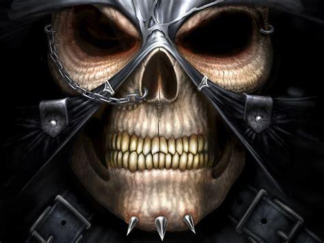 3d Horror Illusion Wallpapers by 3d Evil Skull Wallpaper