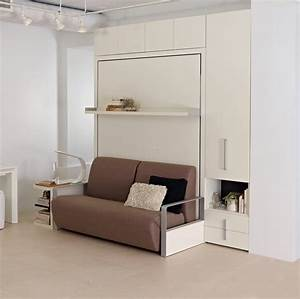 the ito is a self standing queen size wall bed system With wall bed sofa systems
