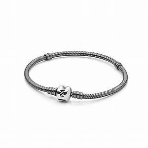 Oxidized Silver Charm Bracelet | PANDORA Jewelry US