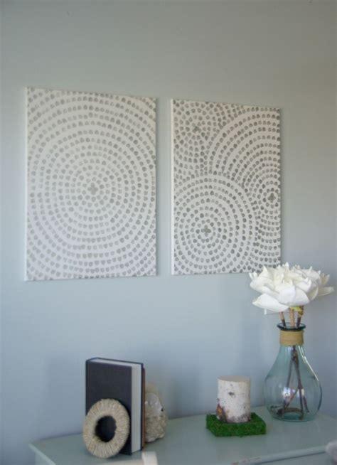 Dekoration Für Wände by W 228 Nde Dekorieren 43 Wanddeko Ideen Mit Leinw 228 Nden