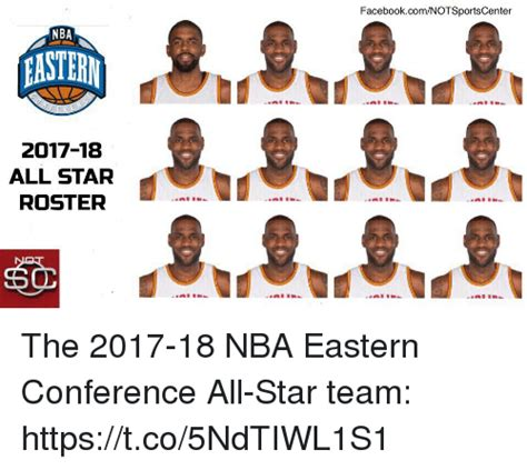 Conference Standings Nba by Facebookcomnotsportscenter Nba 2017 18 All Star Roster 60