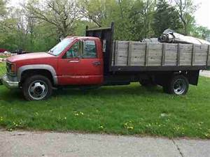 Buy Used 1995 Chevy 3500 Hd 6 5 Turbo Diesel Automatic Dump Truck N  R In Marshall  Wisconsin
