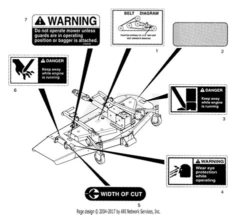 Kubota Mower Deck Belt Diagram Free For Student