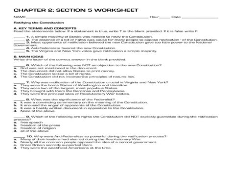 constitution worksheet constitution worksheets