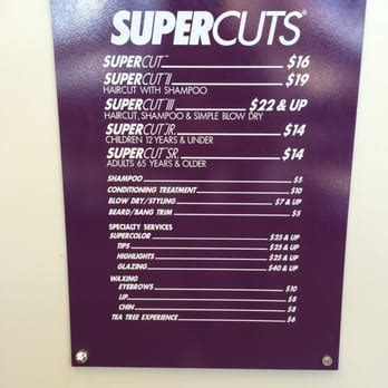 supercuts prices for haircuts supercuts closed 10 photos hair salons 10075 sw