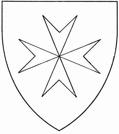 Maltese Cross Drawing Mistholme Drawings Period Paintingvalley