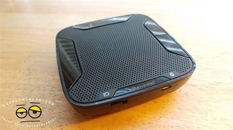 plantronics calisto  portable bluetooth speaker review