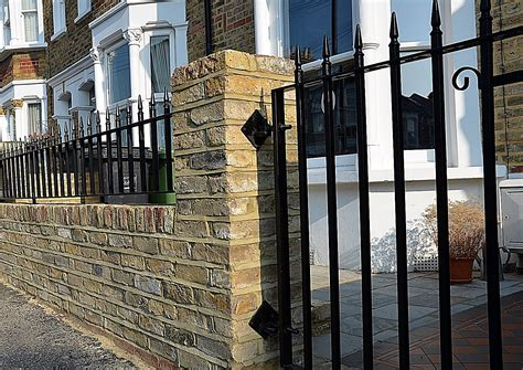 brick wall with gate london garden design garden design part 2