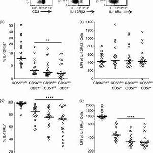 Figure 2: CD57 is a stable marker of human natural killer ...