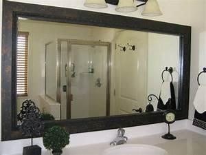 bathroom mirror frame mirror frame kit black mirror With mirror framing kits for bathrooms