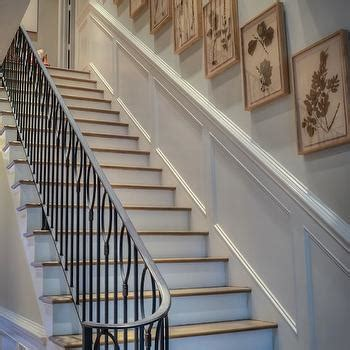 How To Hang Wainscoting Panels by Stairwell Wainscoting Design Ideas