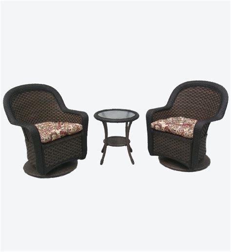 shop home garden patio furniture resin wicker swivel