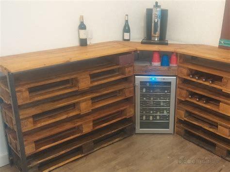 cave a vin deco cave 224 vin 100 palette par julien golfier