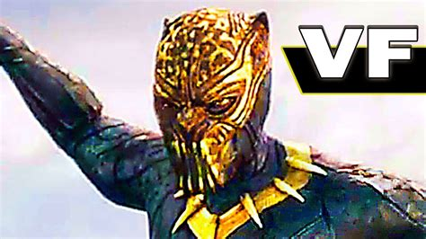 black panther nouvelle bande annonce vf superheros marvel