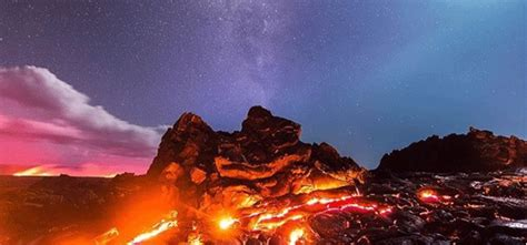 Photographer Risked His Life Capture Moon Lava Meteor