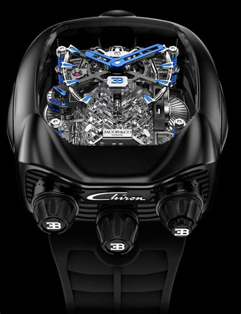 Better yet, it actually runs. Jacob & Co Bugatti Chiron Tourbillon AF321.40.BA.AD.ABSAA ...