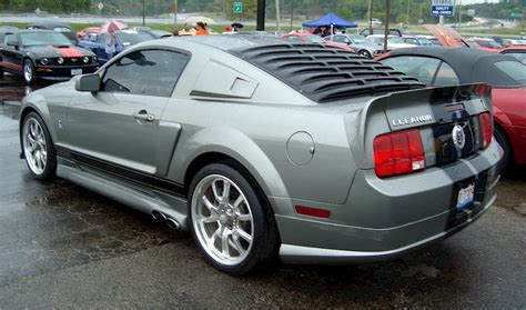 pepper gray  ford mustang gt eleanor coupe