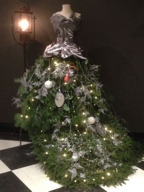 images  christmas dress form trees