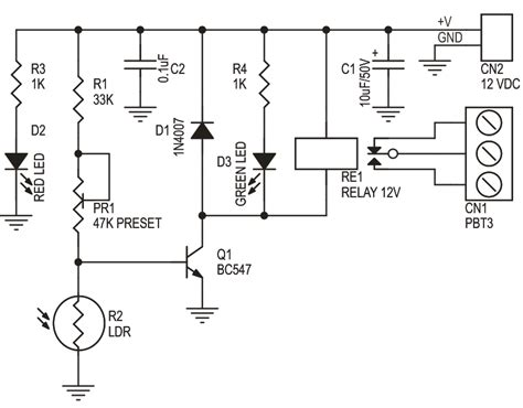 Dark Sensitive Switch Electronics Lab