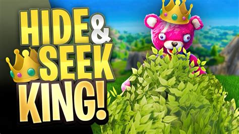 hide seek king  fortnite battle royale youtube