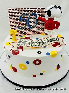 Cool Snoopy celebrates helps celebrate a 50th birthday! # ...