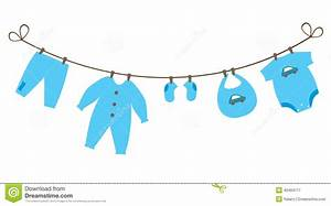 Boys Baby Clothes Clipart - Clipart Suggest