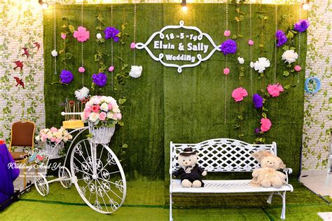 wedding backdrop design malaysia photo booth decoration