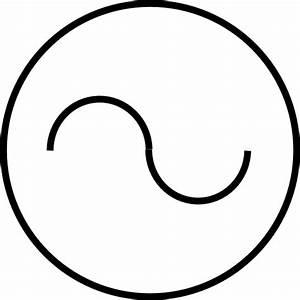 Ac Source Symbol Clip Art At Clker Com