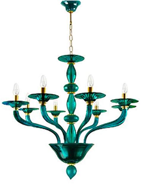 the modern murano glass chandelier themodernsybarite