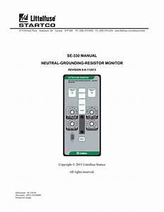 Neutral Grounding Resistors Technical Information