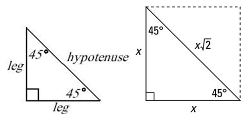 Geometry Help Lord Of The 454590 Triangle