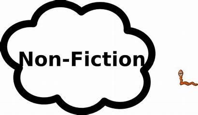 Fiction Non Nonfiction Clip Clipart Sign Label