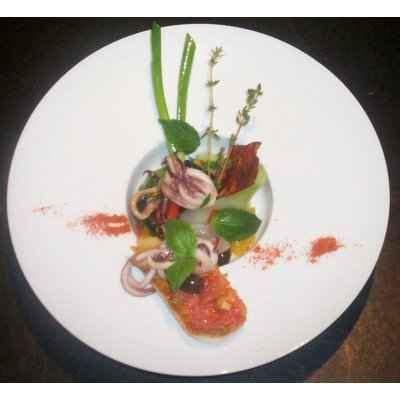 cuisiner du rouget recette filets de rouget et calamar de méditérranée