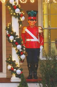 6 giant commercial grade fiberglass toy soldier christmas decoration display ebay